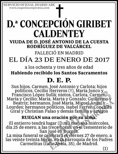 Concepción Giribet Caldentey